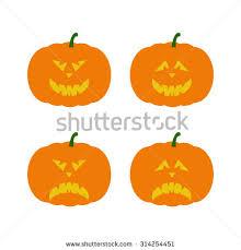 evil pumpkin stock vector 115291594 shutterstock