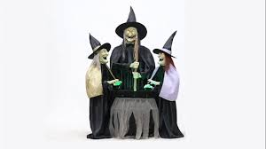 animated live size stitch wicked witch sisters hags halloween prop
