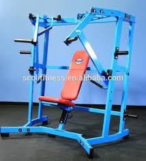 Chest Flat Bench Press Fitness Machine Hammer Strength Press Chest Flat Bench Gym