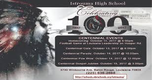 centennial celebration souvenir booklet istrouma high centennial event celebrating 100 years istrouma