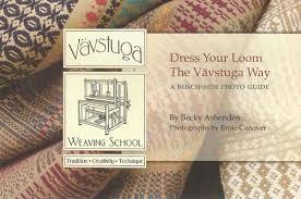 Bench Loom Vävstuga Dress Your Loom The Vävstuga Way A Bench Side Photo Guide