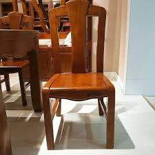 Solid Wood Dining Chairs Modern Solid Wooden Furniture Dining Room Furniture Dining Chair