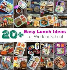 gluten free allergy friendly 20 easy lunch ideas for work or
