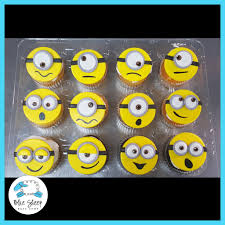 minion cupcakes minion cupcakes nj blue sheep bake shop