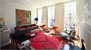 Persian Rugs Scottsdale Oriental Rug With Mod Furniture Home Studio Pinterest