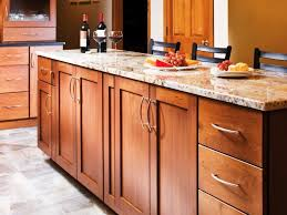 kitchen shaker style cabinet hardware show off the nature beauty