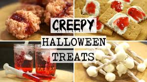 diy creepy halloween recipes youtube