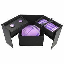 tie box gift box gift tie sets men s classic silk ties handkerchief cufflinks gift
