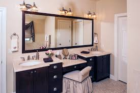Large Mirrors For Bathroom Vanity - bathroom bathroom vanities with makeup area also drawers above