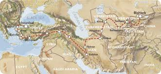 Central Asia Map by Up Next Two Months In Central Asia Traveling The Silk Road
