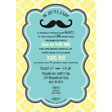 Baby Shower Invitation Cards Amazing Man Baby Shower Invitations Trends Theruntime Com