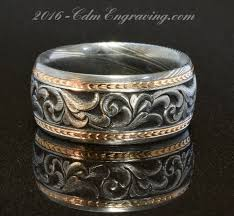 engraving on wedding bands engraved rings