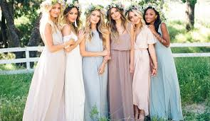 bridesmaid dress ideas alternative bridesmaid dresses