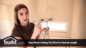 how to hang a pendant light with a cord how to replace and install a pendant lighting fixture youtube