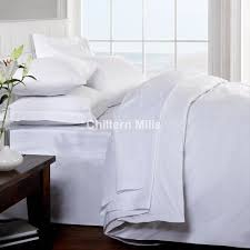 Egyptian Bed Sheets White Bedding Sheets Chiltern Mills