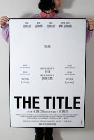 generic movie poster posts