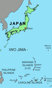Map Of Pacific Islands Map Of Iwo Jima My Blog