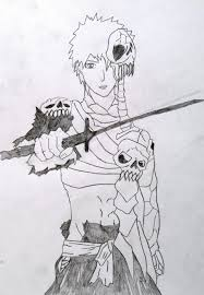 kurosaki ichigo hell mode drawing by mmkurt on deviantart