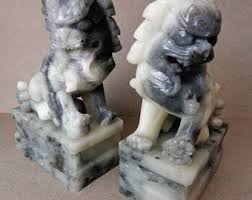 foo dog bookends vintage dog bookends etsy