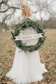 wedding wreath 35 winter wedding wreaths that you ll happywedd