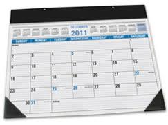 what is a desk blotter calendar desk blotter calendar refills