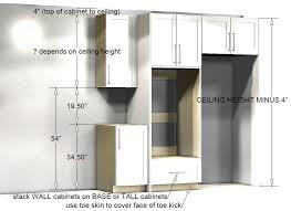 kitchen cabinet height kitchen cabinet design tutorials