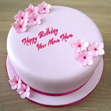how to your birthday cake best 1 website for name birthday cakes write your name on pink