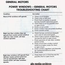 tech files troubleshooting and fixing gm power windows here is a