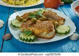 cuisine morue méditerranéen espagnol style cuisine morue morue photo de