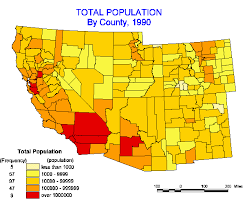 california map population density population growth of the southwest united states 1900 1990