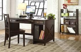 Espresso Office Desk Espresso Computer Desks Bush Cabot L Shaped Computer Desk With
