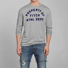 Abercrombie And Fitch Resume New Abercrombie U0026 Fitch For Men A U0026f Heritage Logo L S Graphic Tee