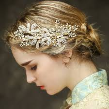 hair accessories for prom luxury gold bridal headpiece wedding hair accessories