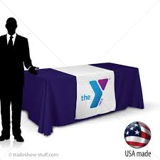 trade show table runner 30 fabric trade show table runner with logo