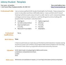 best ideas of sample first resume in sample proposal gallery