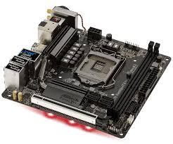Z370 Specs Asrock Fatal1ty Z370 Gaming Itx Ac Motherboard Specifications On