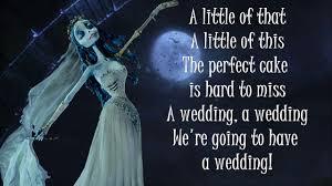 corpse wedding the wedding song corpse lyrics
