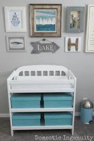 Sailboat Decor For Nursery Nursery Reveal Nautical Nursery Nursery And Room