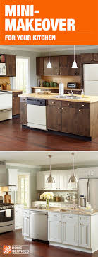 kitchen cabinet refacing at home depot get your own before and after with a mini makeover for your