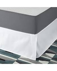 White Bed Skirt Queen Incredible Deal On Smartbase Easy On Easy Off Bed Skirt For 18