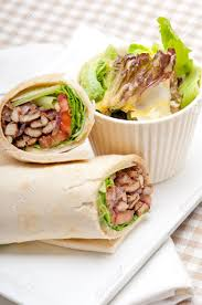 arab wrap kafta shawarma chicken pita wrap roll sandwich traditional arab