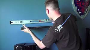 ikea shelf with lip how to install an ikea wall shelf ekby bjarnum jarnum youtube