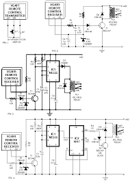 remote control using vhf modules introduction circuit diagram world