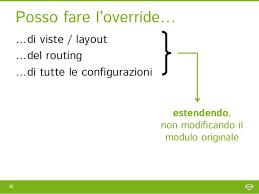 zend framework 2 override layout moduli su zend framework 2 come sfruttarli