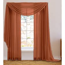 Scarf Curtains Fabulous Window Curtains For Living Room Sheer Voile Window Scarf