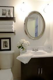 White Oval Bathroom Mirror 15 White Framed Oval Bathroom Mirror Intended For New Property