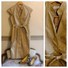 calvin klein reserved calvin klein khaki shirt dress from jacq u0027s