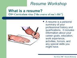 What Is A Resume Cv Rdrew Resume Workshop