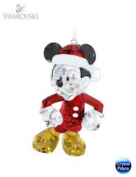 swarovski disney mickey mouse ornament