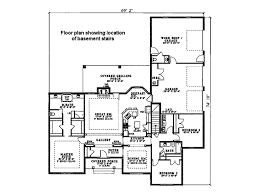 3 Bed 2 Bath Ranch Floor Plans by Ranch Style House Plan 3 Beds 2 50 Baths 2096 Sq Ft Plan 17 174